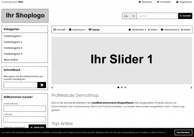 CSS Template Black & White
