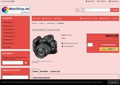 CSS Template Red